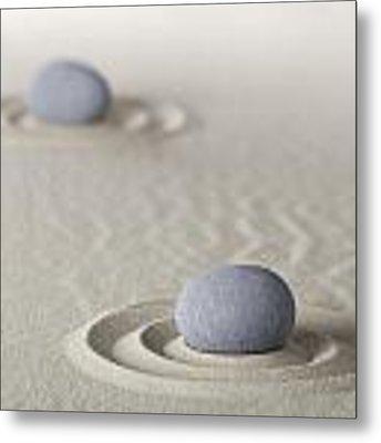 Meditation Stones Metal Print by Dirk Ercken