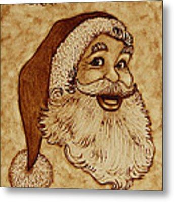 Merry Christmas 2 Metal Print