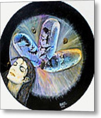 Michael Jackson  Metal Print by Augusta Stylianou