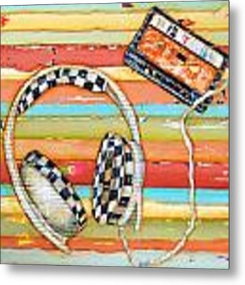 Mix Tape Metal Print by Danny Phillips