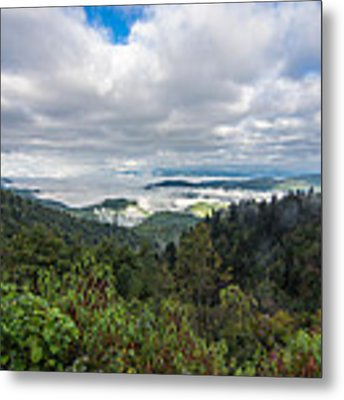 Mountain Fog Metal Print by Francis Trudeau