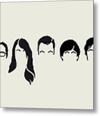 My-big-bang-hair-theory Metal Print