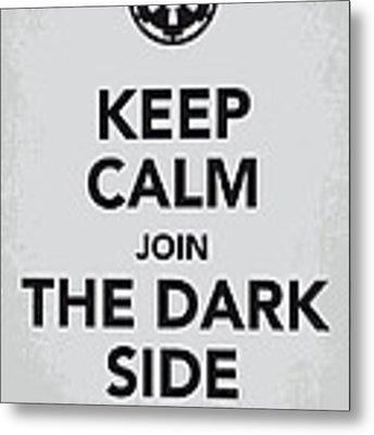 My Keep Calm Star Wars - Galactic Empire-poster Metal Print