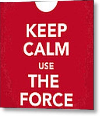My Keep Calm Star Wars - Rebel Alliance-poster Metal Print