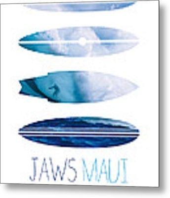 My Surfspots Poster-1-jaws-maui Metal Print