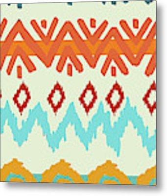 Navajo Missoni I Metal Print