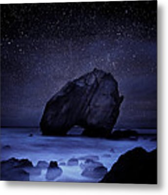Night Guardian Metal Print by Jorge Maia