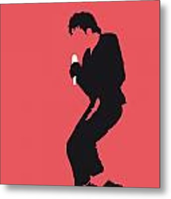 No032 My Michael Jackson Minimal Music Poster Metal Print