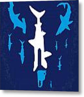 No216 My Sharknado Minimal Movie Poster Metal Print