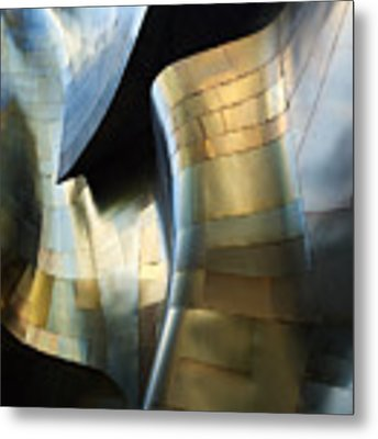 Organic Metal #3 Metal Print by David Reams