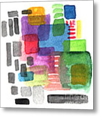 Out Of The Box Metal Print