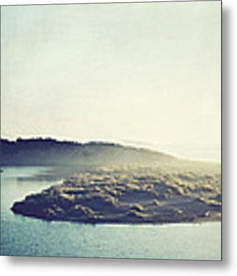 River Ans Sea Metal Print