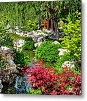 San Marino - Huntington Botanical Gardens 005 Metal Print by Lance Vaughn