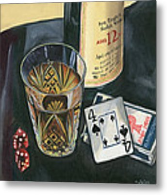 Scotch And Cigars 2 Metal Print by Debbie DeWitt