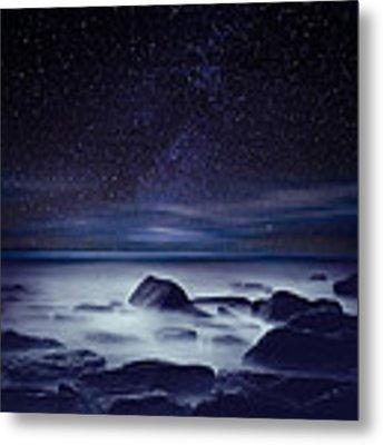 Starry Night Metal Print by Jorge Maia