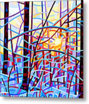 Sunrise Metal Print by Mandy Budan