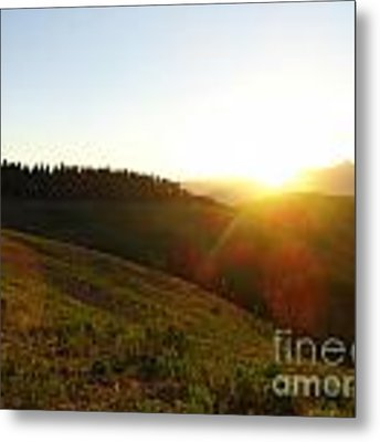 Sunrise Over The Cimarrons Metal Print by Kate Avery