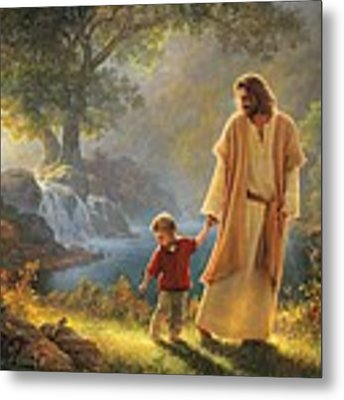 Take My Hand Metal Print by Greg Olsen