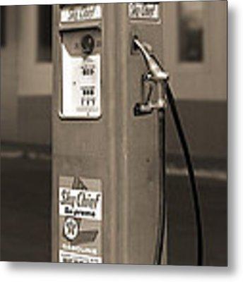 Tokheim Gas Pump 2 Metal Print by Mike McGlothlen