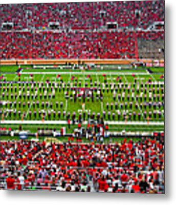 The Going Band From Raiderland Metal Print by Mae Wertz