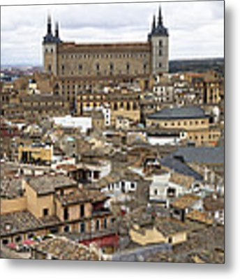 Toledo Spain Cityscape Metal Print by Nathan Rupert
