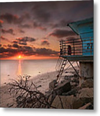 Tower 27 Metal Print by Larry Marshall