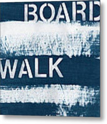 Under The Boardwalk Metal Print by Linda Woods