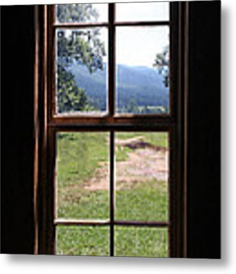 View From The Cabin Metal Print by Todd Blanchard