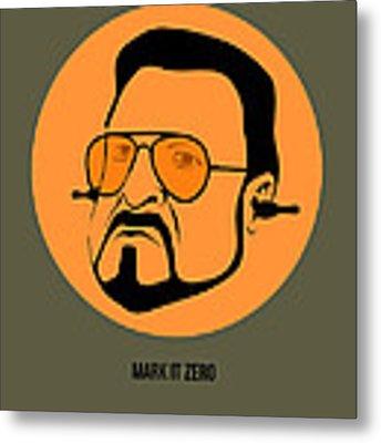 Walter Sobchak Poster 1 Metal Print by Naxart Studio