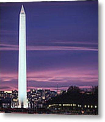 Washington Monument Metal Print by Cindy Lark Hartman