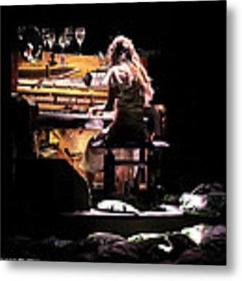 Weird Live Piano Metal Print by Stwayne Keubrick