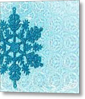 Snow Flake Metal Print