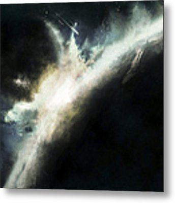 A Planet Pushed Out Of Its Orbit Metal Print by Tomasz Dabrowski