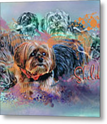 Another Birthday 112 Years Metal Print by Kathy Tarochione