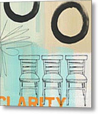 Clarity Metal Print by Linda Woods