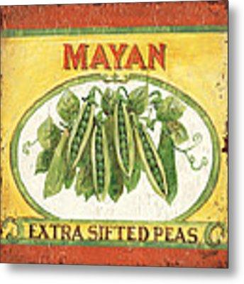 Mayan Peas Metal Print