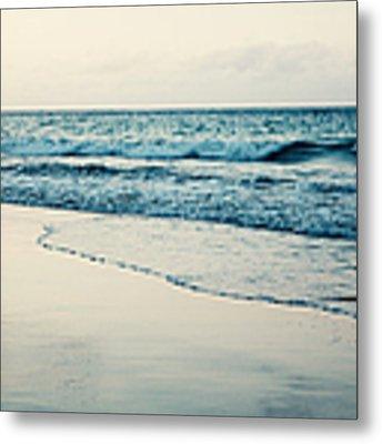 Ocean At Sunset Metal Print by Kim Fearheiley