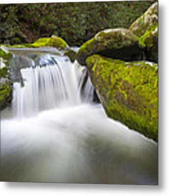 Roaring Fork Great Smoky Mountains National Park - The Simple Pleasures Metal Print