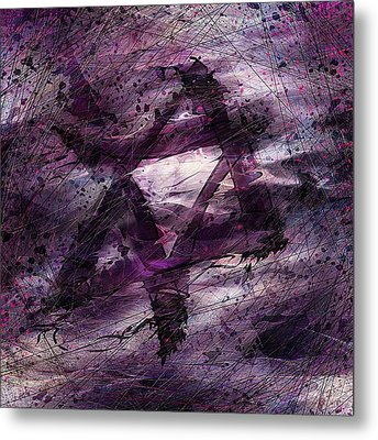 . . . When We Remembered Zion Metal Print by Rachel Christine Nowicki