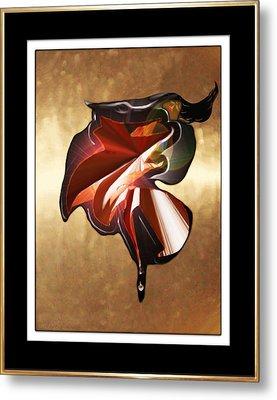 ' Spanish Dancer ' Metal Print