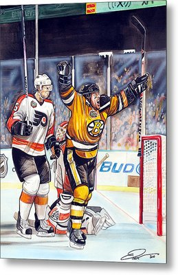 2010 Nhl Winter Classic Metal Print