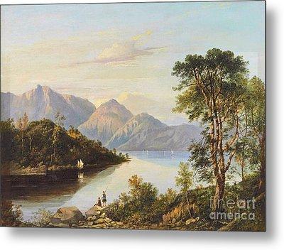 A Highland Loch Landscape Metal Print