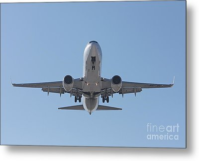 Aireuropa - Boeing 737-85p - Ec-jbl  Metal Print by Amos Dor