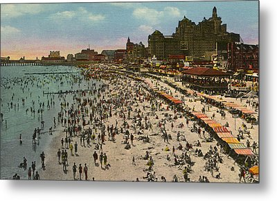 Atlantic City Spectacle Metal Print