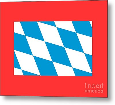 Bavaria Flag Metal Print by Frederick Holiday