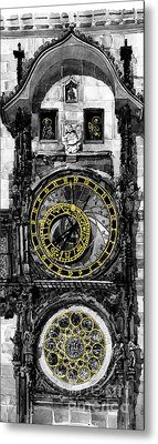 Bw Prague The Horologue At Oldtownhall Metal Print