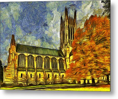 Cathedral Of St. John The Evangelist Metal Print by Mark Kiver