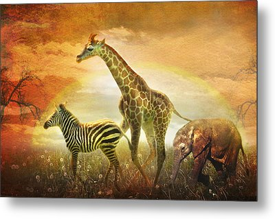 Children Of The Sun Metal Print by Trudi Simmonds