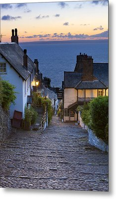 Clovelly Metal Print by Sebastian Wasek