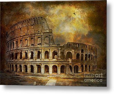 Colosseum Metal Print by Andrzej Szczerski